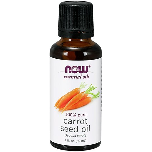 Earthy Mix - Now Essential Oils Organic Seed Oil, Carrot, 1 Fluid Ounce