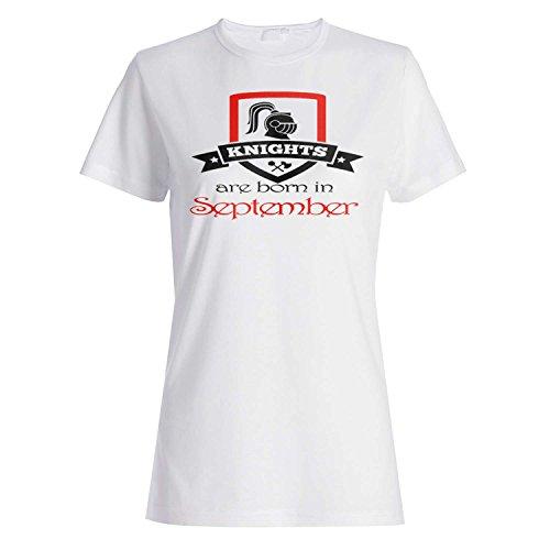 Ritter werden im September geboren Damen T-shirt aa8f
