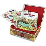Der kleine Drache Kokosnuss - Meine Abenteuer-Schatzkiste: Mit Kokosnuss-Midis + Stickerbogen mit neuen Abenteuer-Motiven (Set) (Sonderausgaben, Band 1)