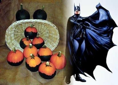 Batman Pumpkin 10 Seeds - RARE - NEW - Good to -
