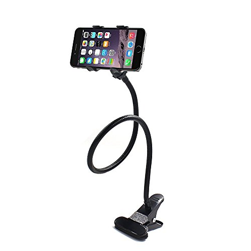 SHONCO Gooseneck Flexible Long Arms Cell Phone Clip Holder S