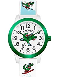 Relógio Lacoste Infantil Borracha Branca - 2030022