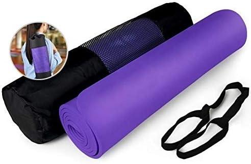 Yoga mat 材料200センチメートル* 160センチメートルメイドヨガマットノンスリップスポーツマットを備えた高性能グリップ* 10ミリメートル workout