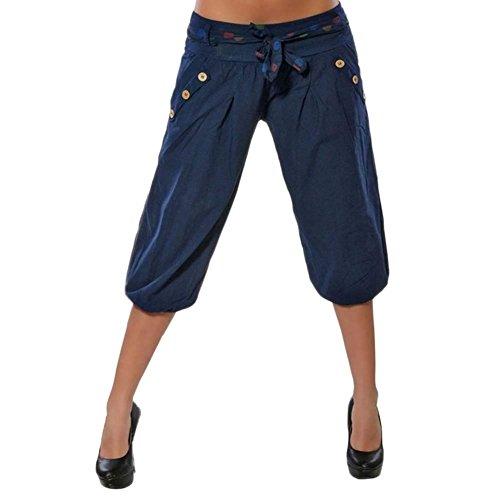 Inclusa Breasted Pantaloni Tempo Eleganti Nahen Streetwear Cintura Primaverile Baggy Blau 4 Libero Glamorous Pantaloni Estivi Donna Modern Semplice Pantalone Harem Con Taille Pantaloni Moda 3 Tasche Swag aBU8wzq