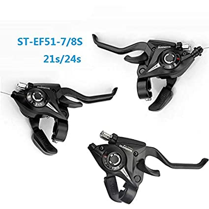 SHIMANO ST EF51 Bicycle Derailleur 3*7//8 21//24 Speed Conjoined