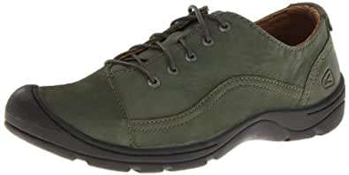 KEEN Women's Sterling City Lace Shoe,Forest Night,5 M US