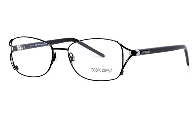 e00462c5698 Image Unavailable. Image not available for. Color  Roberto Cavalli  Eyeglasses RC619 Bocca De Leone 001 Size 52 Black Palladium 619