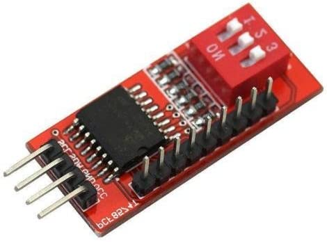 1PCS PCF8574T I//O I2C Port Interface Support Arduino Cascading Extended Module