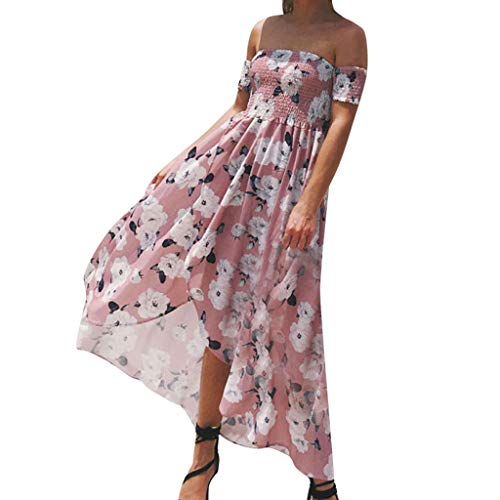EDTO Women's Sleeveless and Long Sleeve Loose Plain Maxi Dresses Casual Long Dresses with Pockets Summer Beach Swing Dress Sundress