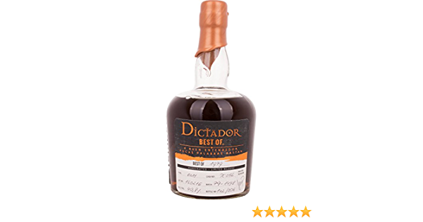 Dictador Best of 1979 Limited Release Rum - 700 ml