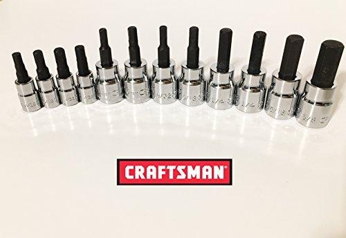 Craftsman 12 Piece Standard Sae + Meric MM 3/8