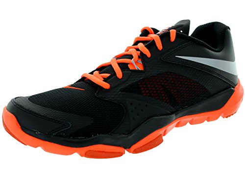 Nike Men's Flex Supreme Tr 3 Black/Metallic Silver/Hypr Crmsn/Tm O Training Shoe 9.5 Men US