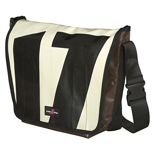 Sturm & Drang - Bolsa bandolera para la universidad - Lona para camiones - Grande Messenger Bag large