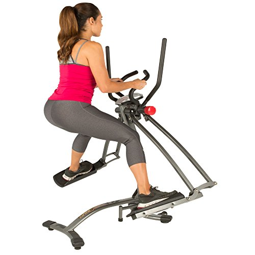 Fitness Reality Dual Action/Multi-Direction Air Walker X1 with Heart...