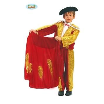 Disfraz de torero de luces para niño - 7-9 años: Amazon.es ...