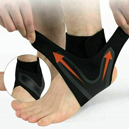 Elastic Ankle Elastic Ankle Support Foot Support Ankle Sleeve Elastic Ankle Brace Guard Foot Support Sports Graysky Professional Ankle Guard Sports Protection