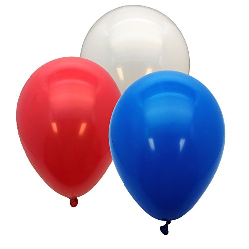 Best balloons red white blue