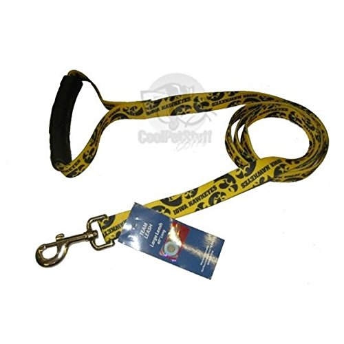 (Pet Care Preferred Iowa Hawkeyes EZ Grip Nylon Leash - S/M )