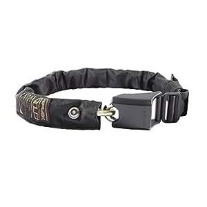 Hiplok Gold Wearable Chain Lock, Black, 10mm
