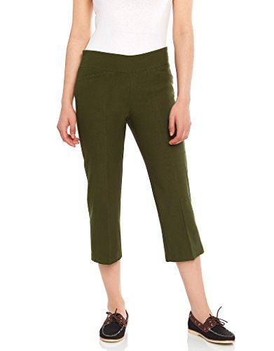 Women's Dress Capri Olive, 12