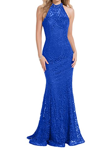 Abendkleider Etuikleider Tanzenkleider Blau Royal Meerjungfrau Ballkleider mia La Damen Jugendweihe Braut Abiballkleider 2 Spitze Lila Kleider 6qxPX4O