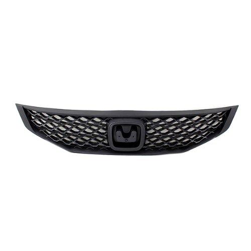 Coupe Mesh Grille - CarPartsDepot, Front Grille Black Mesh Frame Plastic Coupe, 400-202929 HO1200199 71121SVAA50