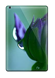 Durable Defender Case For Ipad Mini/mini 2 Tpu Cover(flower Blooming)