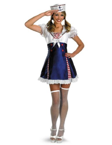 Ahoy Matey Adult Costumes (Ahoy Matey Adult Costume Item - Disguise)