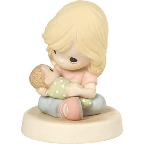 Figurines Porcelain Woman - Precious Moments 172020 You are God's Greatest Gift Mother Holding Baby Bisque Porcelain Figurine
