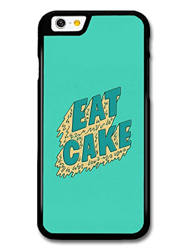 Cool Pop Eat Cake on Green Design case for iPhone 6 6S