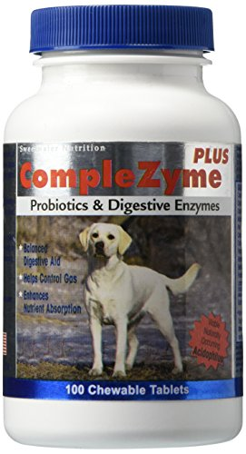 - Comple-Zyme Digestive Aid Formula for Dogs - 100 Chewable Tablets