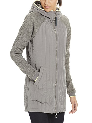 Grey Material Mix Gy149 Gris Slim Bench Femme Core Coat Dark Manteau xz4xtpwE
