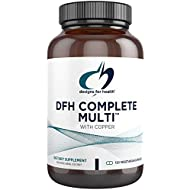 Designs for Health - Complete Multi with Copper, Iron Free, 180 Capsules