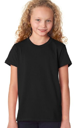 picture of Bella + Canvas Youth Jersey Short-Sleeve T-Shirt-S (Black)