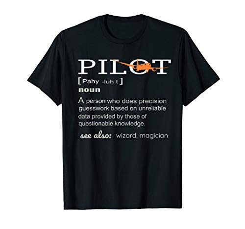 Pilot Definition Shirt who lover Funny Airplane aircraft