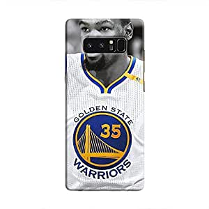 Cover It Up - Golden State Warriors Galaxy Note 8 Hard Case