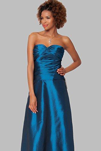de de tirantes de sin entero Azul EDJ1622 SEXYHER de Encuadre Gorgeous Profundo formal vestido honor cuerpo noche las damas SxYqOx0vw