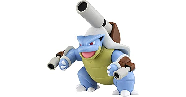 Battle Action Mega Blastoise Tomy Genuine Pokemon Feature Figure