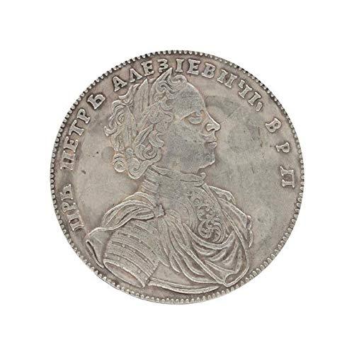 (Silver Coin Coin Collection - 1714 Russian Double-Headed Eagle Coin Commemorative Coin - Collection Gift Coins)