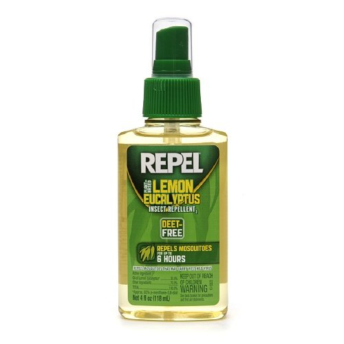 Repel Plant Based Lemon Eucalyptus Insect Repellent 4 fl oz (118 ml) ()