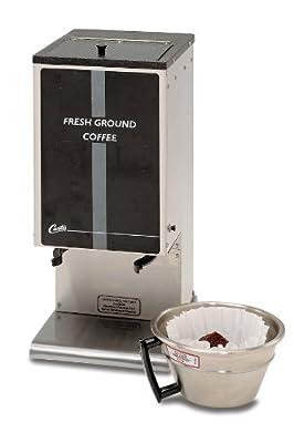 Wilbur Curtis Coffee Grinder 6.0 Lb Grinder With Single Hopper - Commercial Burr Grinder - SHG-10 (Each) by Wilbur Curtis Co. Inc.