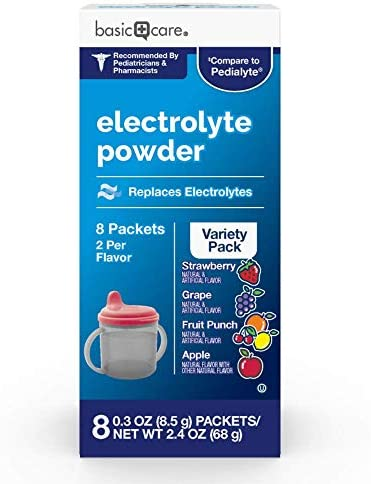Basic Care Electrolyte Variety Packets