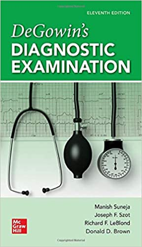 DeGowin's Diagnostic Examination, 11th Edition - Original PDF