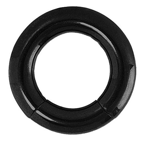 Black Anodized Stainless Steel Segment Ring (Stainless Steel Segment Rings)