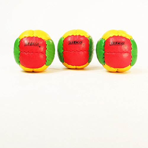 Zeekio Galaxy Juggling Ball Gift Set- 3 Juggling Balls - Yellow/Red/Green-Rasta by Mediatic Labs (Image #2)
