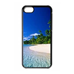 Beach iPhone 5c Cell Phone Case Black KNF