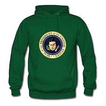 Chic Revised Presidential Seal Sweatshirts Green X-large Women
