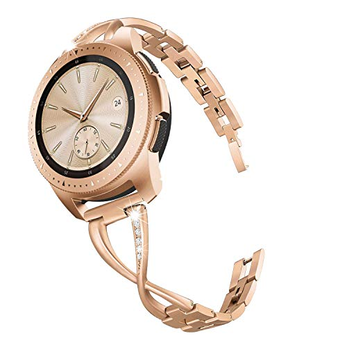 267b78252 V MORO Band Compatible W Galaxy Watch 42Mm Bands ROSE GOLD Women ...