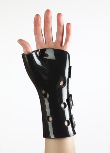 Corflex Poly Cast Wrist/Hand/Thumb Orthosis (black) Small Left 6-7