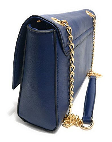 Valentino , Damen Schultertasche Blau blau